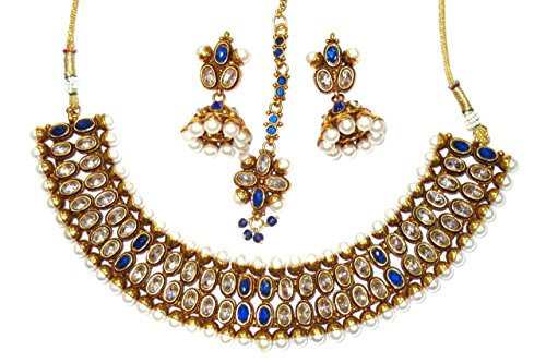 Shingar-Jewelry-Ksvk-Jewels-Womens-Antique-Gold-Plated-  sc 1 st  pretty.fm : antique gold plated jewellery - pezcame.com