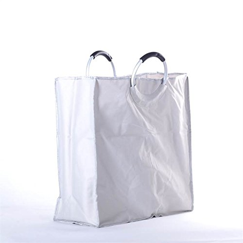 Big Shopper Bag Shopping Handbag Tote With 2 Cases From