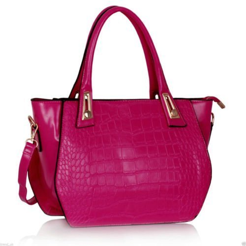 TrendStar Ladies Croc Bags Designer Handbags Faux Leather Tote ...