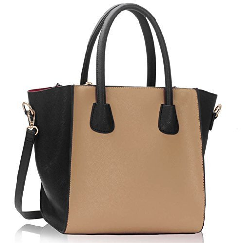 Womens Designer Handbags Ladies Shoulder Bags New Faux Leather ...
