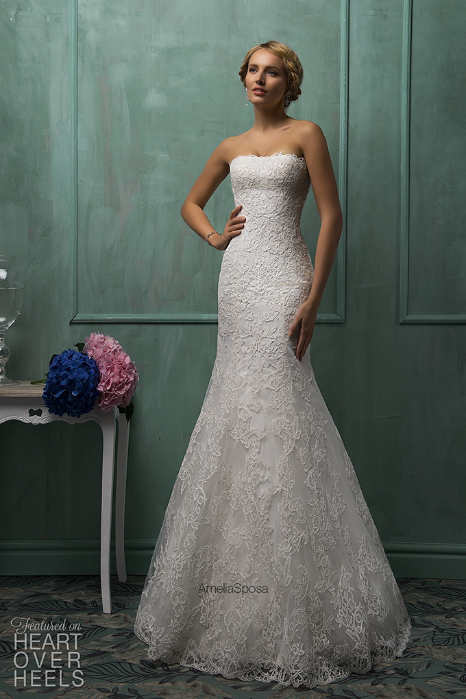 Goddess Bride! Stunning Amelia Sposa Wedding Dresses – Hacked By ...