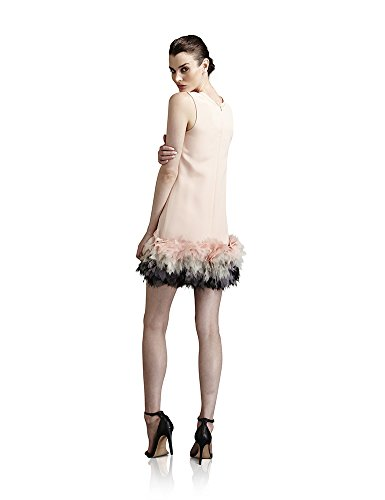 Fabiola Arias Womens Baby Doll Cocktail Dress 6 Soft Pink Ombre