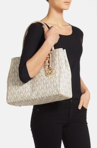Michael Kors Jet Set Medium Work Mk Signature