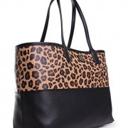 d53246f4700 Tory Burch Kerrington Shopper in Ocelot Leopard – Hacked By Moshkela ...
